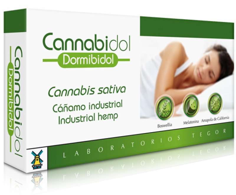 CANNABIDOL DORMIBIDOL - 40 CAPSULES