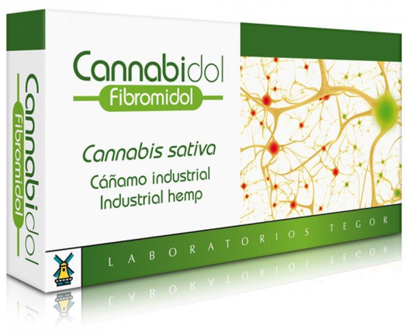 CANNABIDOL FIBROMIDOL - 40 CAPSULES