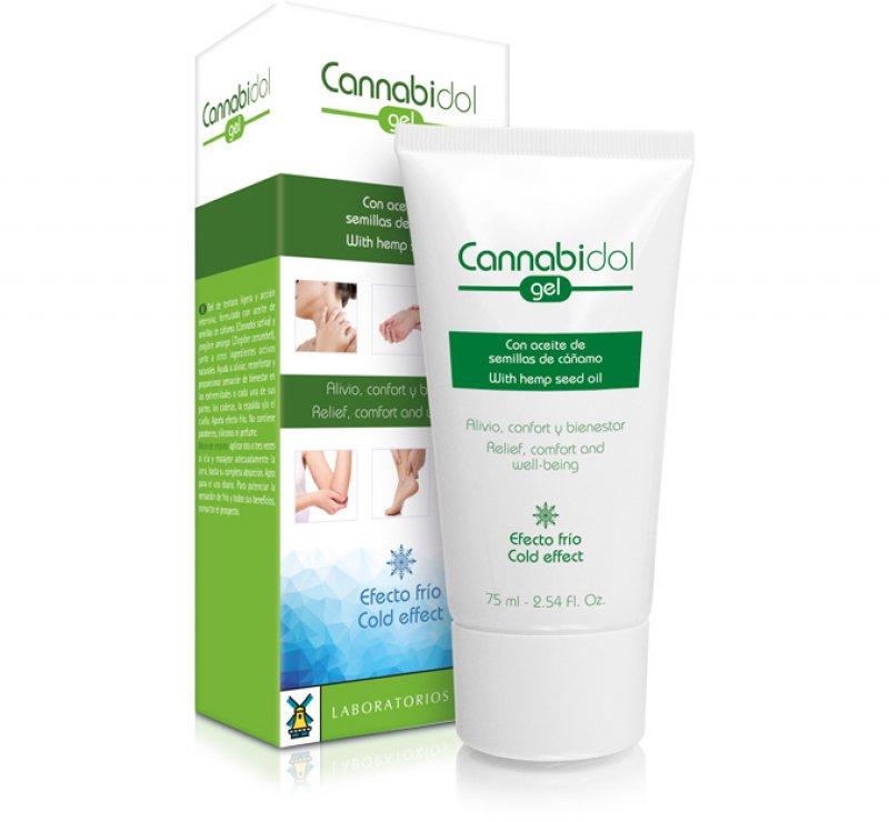 Cannabidol GEL with hemp seed oil 75 ML
