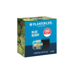 Pod Cartridge Blueberry 0.75 ML 5% CBD