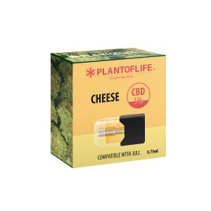 Pod Cartridge Cheese 0.75 ML 5% CBD