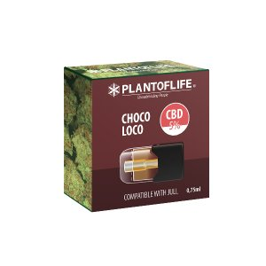 Pod Cartridge Chocoloco 0.75 ML 5% CBD
