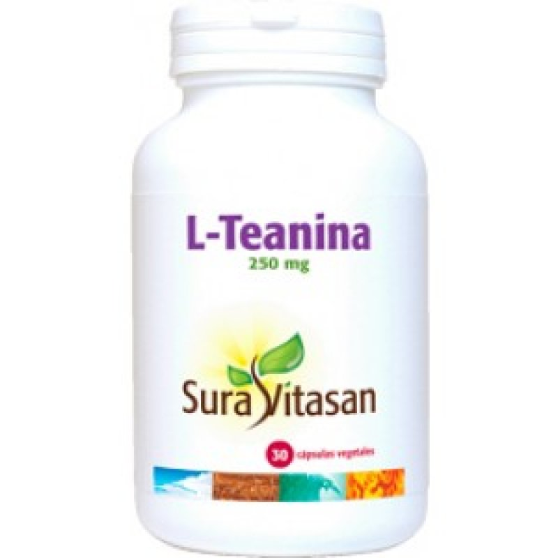 L-theanine 250 mg 60 capsules