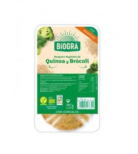 QUINOA AND BROCCOLI BURGER