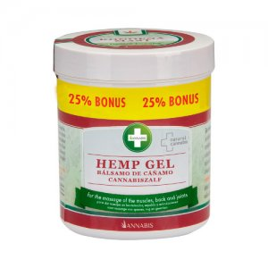 HEMP GEL - 300 ml HEMP GEL FOR RELAXATION AND MASSAGE