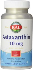 Astaxanthin 10 mg 60 capsules KAL