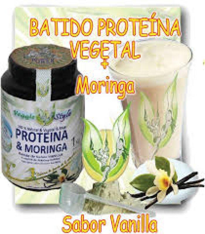 Bio Veggie Style Protein with Moringa 84 % with Vanilla Flavor 1 KG