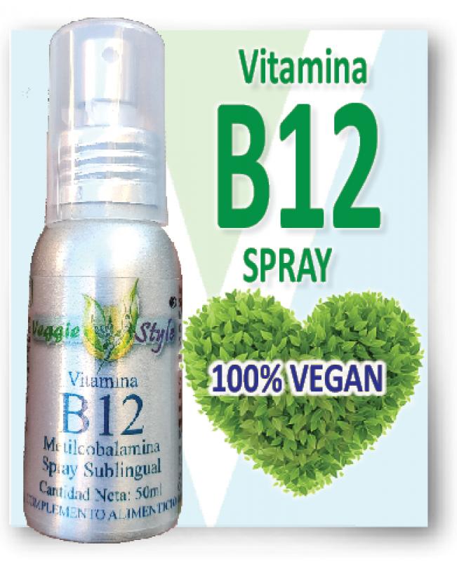 Veggie Style VITAMIN B12 Spray 50 ml vegan