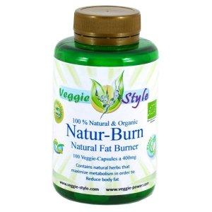 Natur Burn 350mg - 100 capsules de Veggie Style