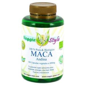 Maca Andina 400 mg 100 vcaps Veggie Style Bio