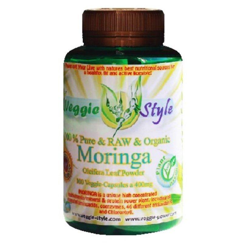 Moringa Oleifera 350 mg 100 capsules Veggie Style Bio
