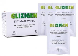 Glizigen intimate wipes 10 units