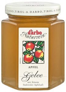Darbo natural apple jelly extra 200 gr.