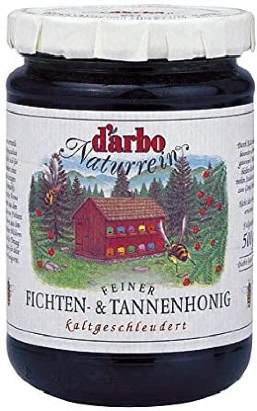 Darbo natural spruce and fir honey 500 gr.