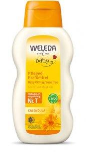 Calendula care oil perfume free 200 ml Weleda