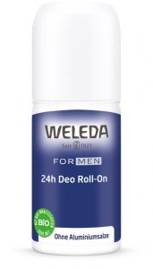 FOR MEN 24h deodorant roll-on 50 ml Weleda