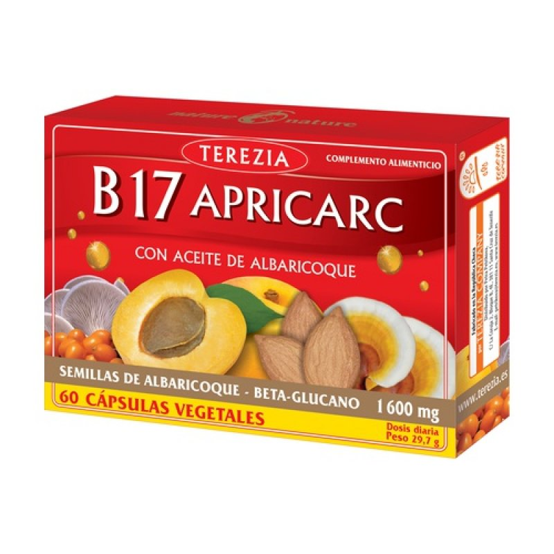 B17 APRICARC WITH APRICOT OIL 60 CAPSULES