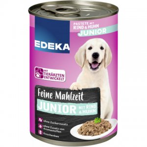 EDEKA dog food Fine meal with beef and chicken 400G