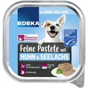 EDEKA Fine Pate with Chicken & Pollock Wet Dog Food 150G