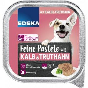 EDEKA Fine Pate with Veal & Turkey Wet Dog Food 150G