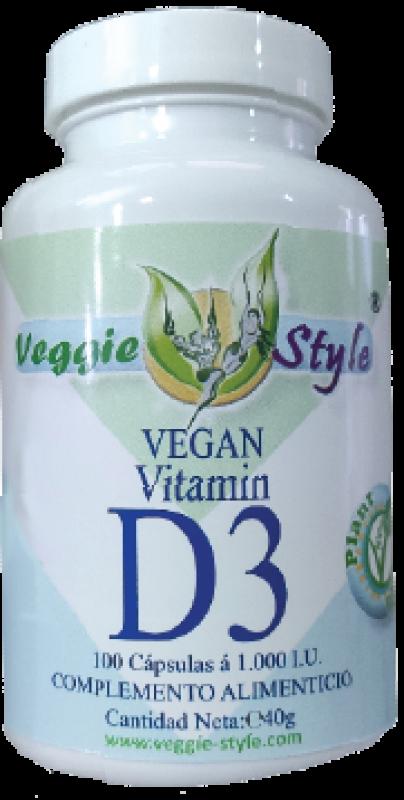 Vitamin D3 1000 IU 100 capsules