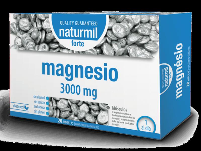 MAGNESIUM FORTE 20 AMPOULES