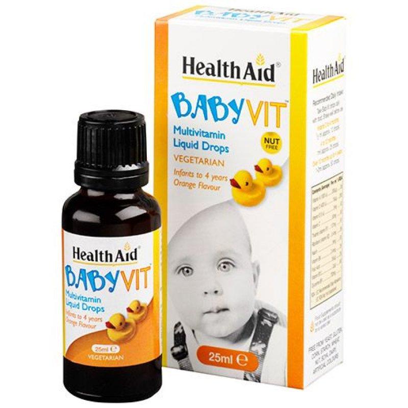 Baby Vit - Orange Flavor Age 0 to 4 years
