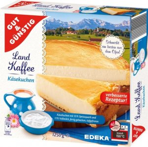 GUT & GÜNSTIG Cheesecake 1250 gr.