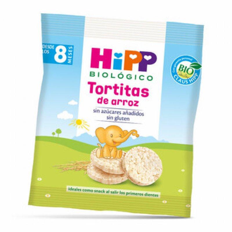 Hipp organic rice and millet pancakes 30 gr.
