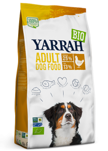 Organic dog food Adult Chicken 2 KG