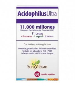 Acidophilus Ultra 60 capsules 11,000 mill. by UFC