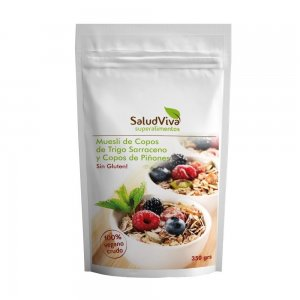 Muesli with Buckwheat Flakes and Pinion Flakes ECO 350 gr