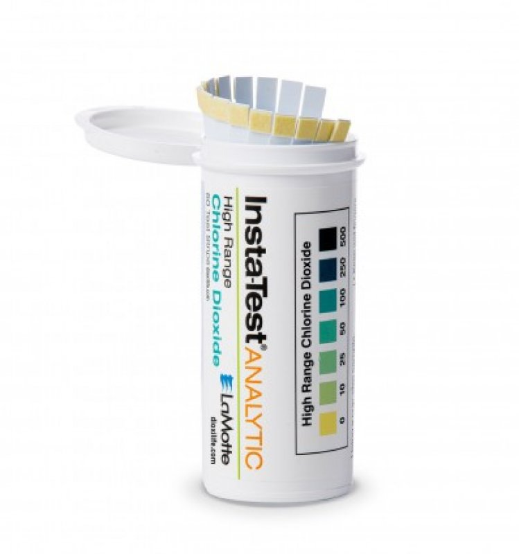 Insta test strips chlorine carbon dioxide 50 pieces